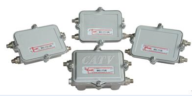 5~1000MHz野外型过流分支分配器