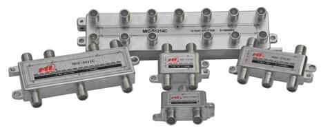 5~1000MHz高隔离度分支分配器