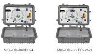 MIC-OR-860BR系列野外型二路输出光接收机