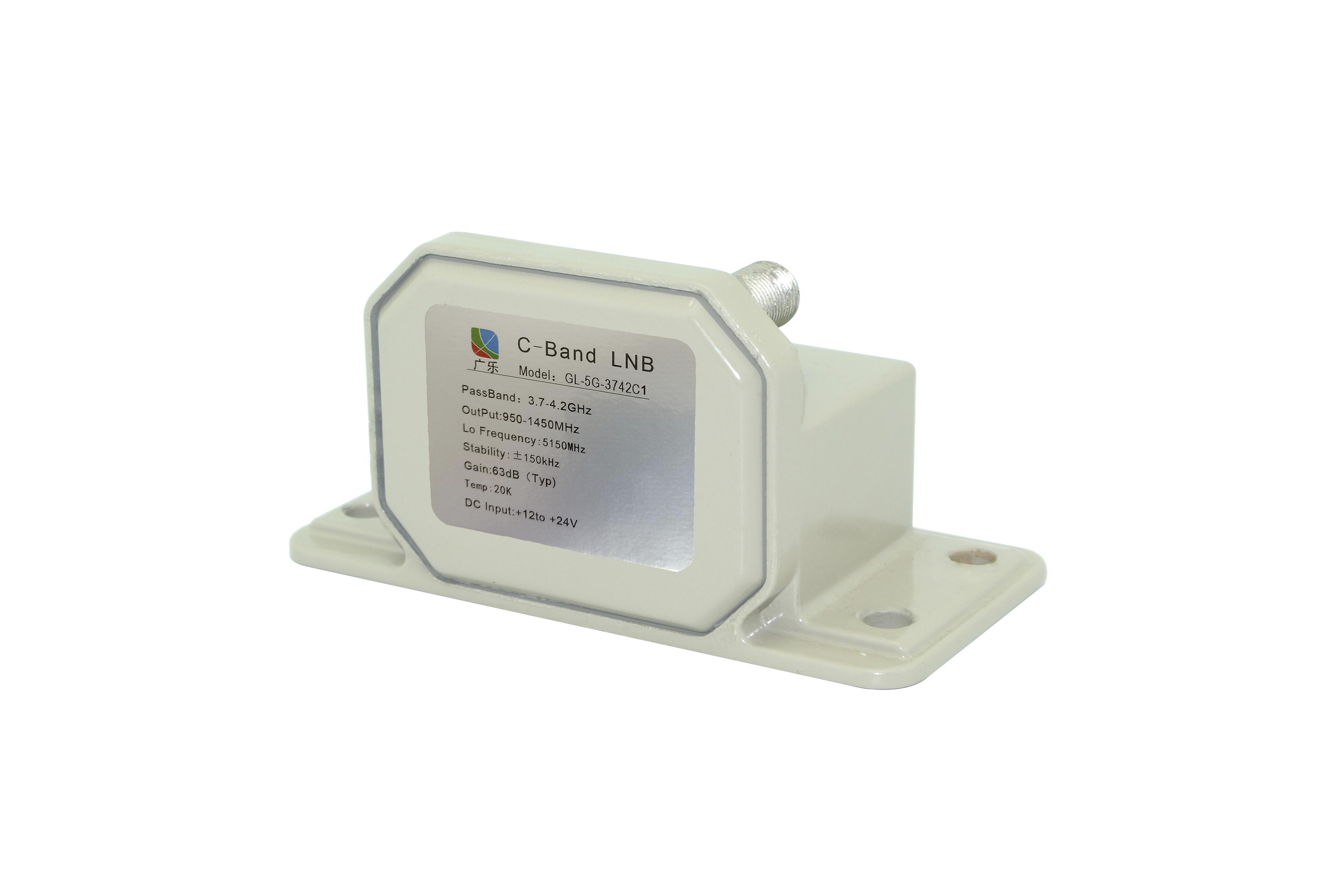 3.7-4.2GHz C频段窄带高频头GL-5G-3742C1 重量轻 体积小